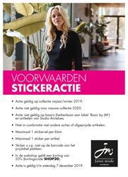 Actievoorwaarden Stickeractie najaar 2019