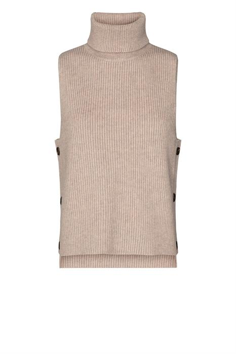 Co Couture Spencer Row button vest