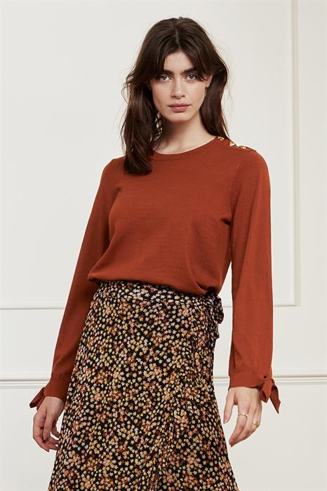 Fabienne Chapot Pullover Molly bow pul