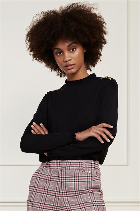 Fabienne Chapot Pullover Molly frill