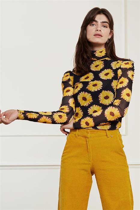 Fabienne Chapot T-shirt Jane puffed sleeve top