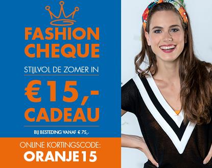 Fashioncheque €15