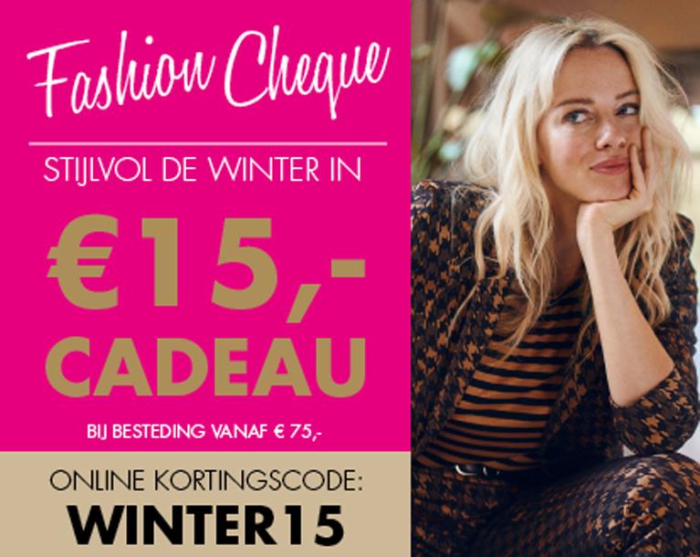 Fashioncheque najaar 2019
