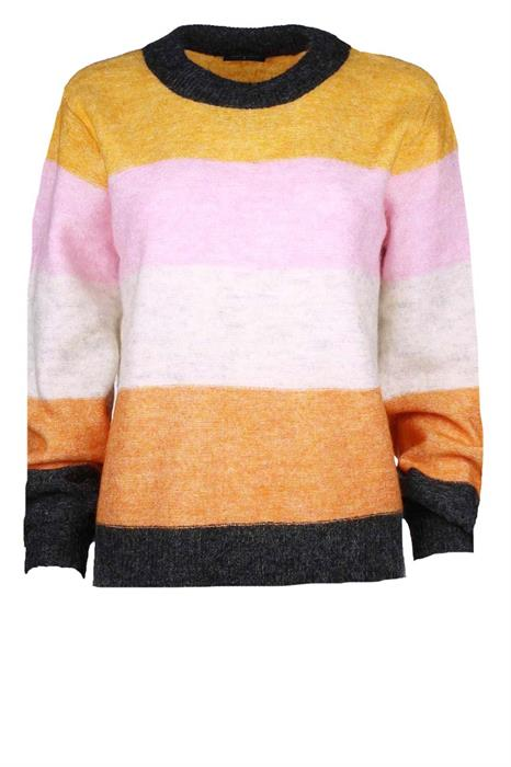 Free|Quent Pullover Moto-pu-strip