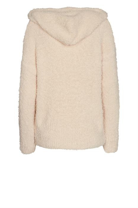 Free Quent Pullover Teddy-pu-hood