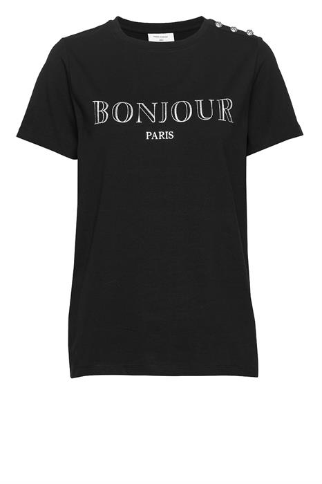 Free|Quent T-shirt Bonjour-tee