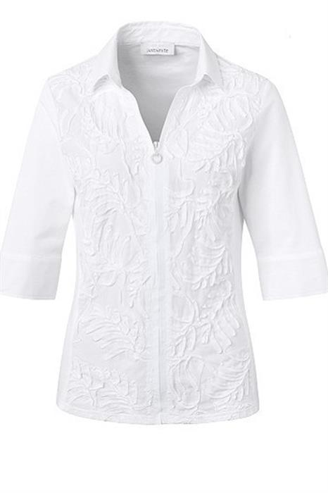 Just White Blouse 42646