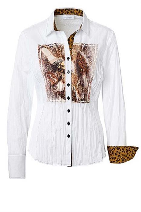 Just White Blouse 43208