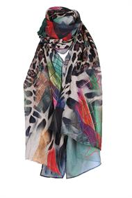 Lizzy & Coco Shawl Otte geo animal