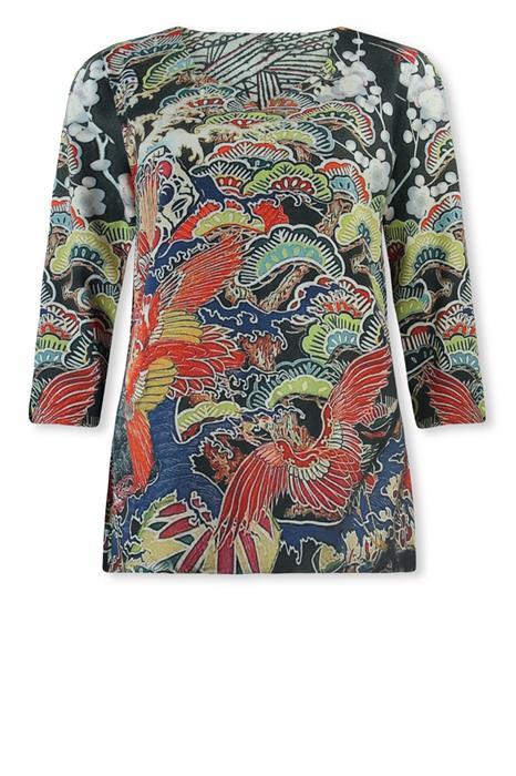 Lizzy & Coco T-shirt Sissie vintage kimono