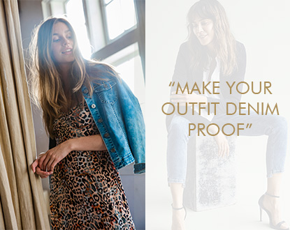 Make your outfit denim proof