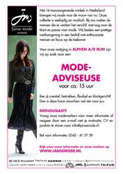 Mode-adviseuse Alphen