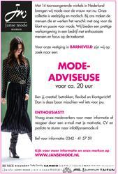 Mode-adviseuse Barneveld