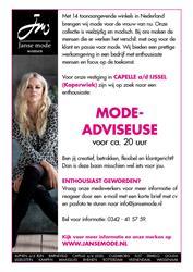 Mode-adviseuse Capelle a/d IJssel