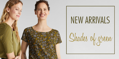 New arrivals: Shades of green