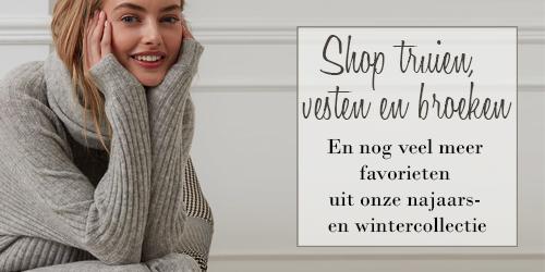 Onze favorieten truien, vesten en broeken