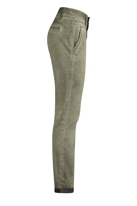 Red Button Broek Carly pinstripe 2918