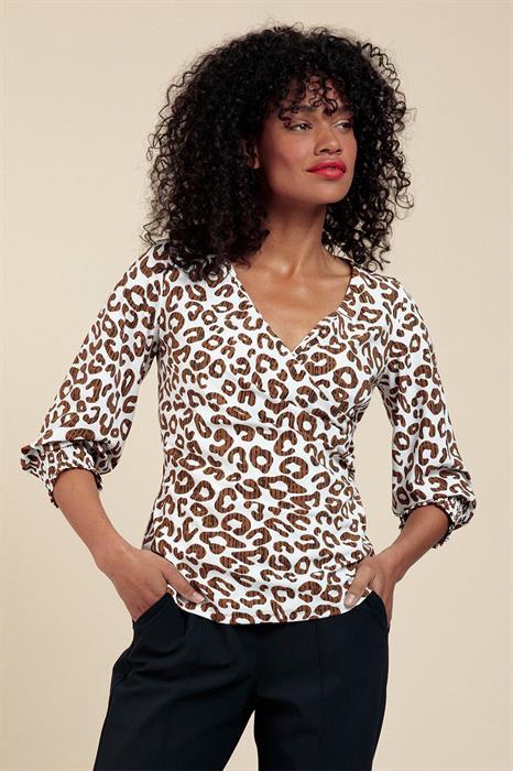 Studio Anneloes Shirt Joy Leopard