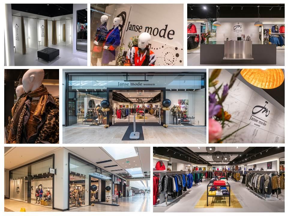Verbouwingsresultaat Janse mode Capelle aan den IJssel
